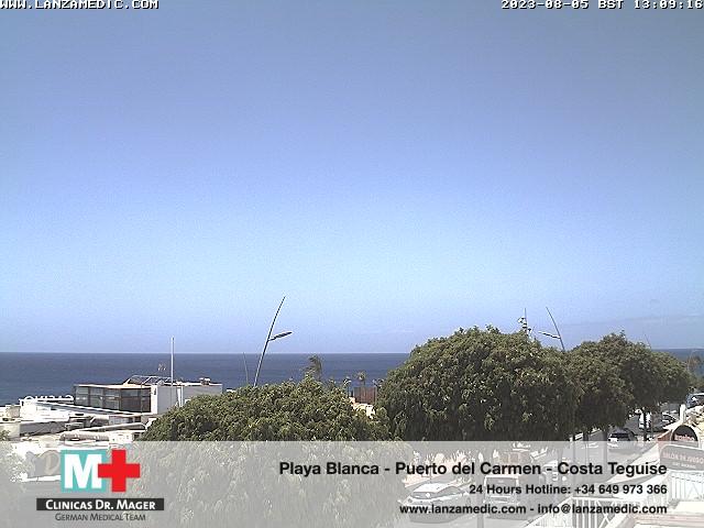 Puerto del Carmen (Lanzarote) Fri. 13:09