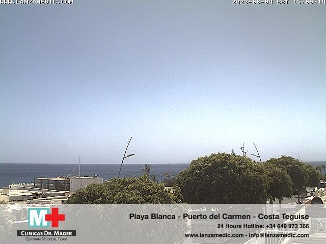 Puerto del Carmen (Lanzarote) Fri. 15:09
