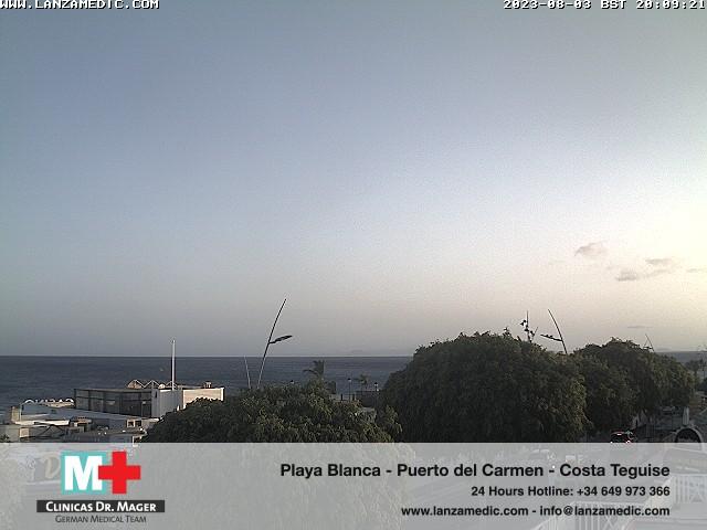 Puerto del Carmen (Lanzarote) Fri. 20:09