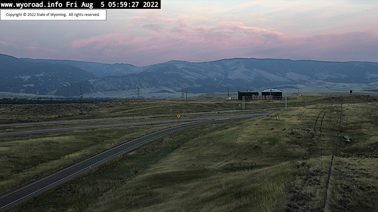 Ranchester, Wyoming Wed. 06:04