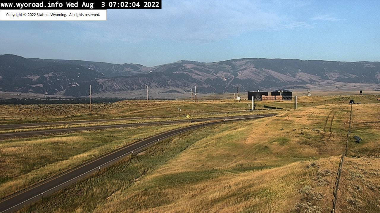 Ranchester, Wyoming Wed. 07:04