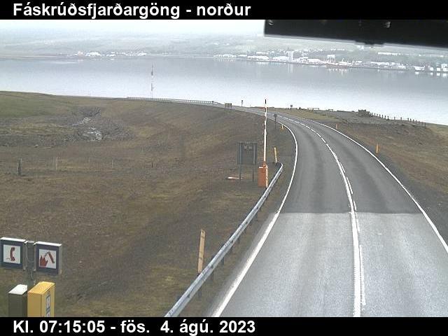 Reyðarfjörður Gio. 07:15