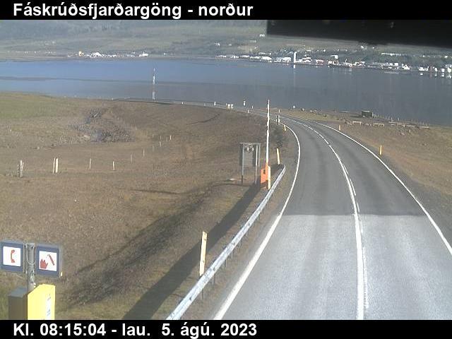 Reyðarfjörður Gio. 08:15