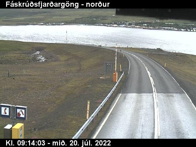 Reyðarfjörður Gio. 09:15
