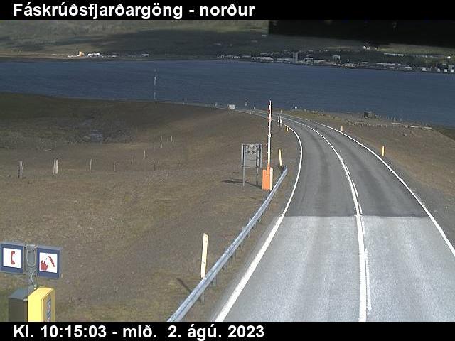 Reyðarfjörður Gio. 10:15