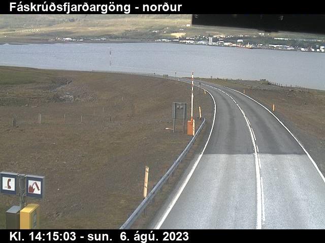 Reyðarfjörður Gio. 14:15