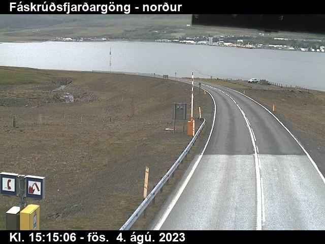 Reyðarfjörður Gio. 15:15