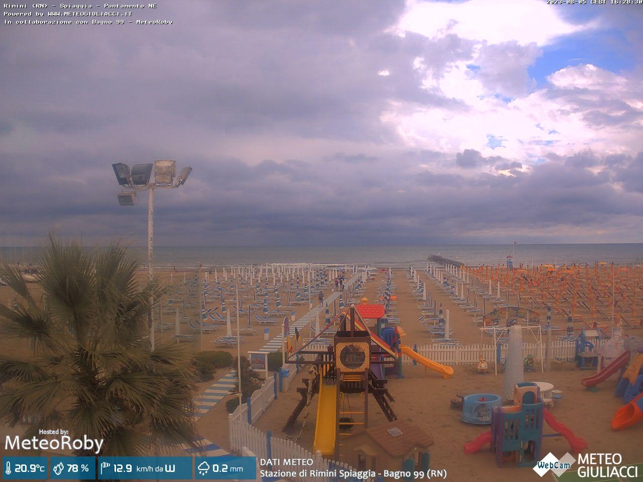 Rimini strand von rimini webcam galore - Bagno 144 miramare ...
