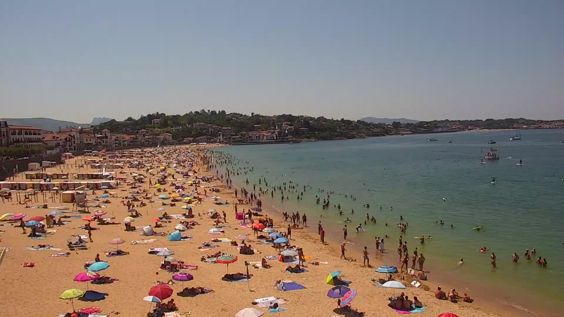 Live webcam saint jean de luz plage donibane - Weather forecast st jean pied de port france ...