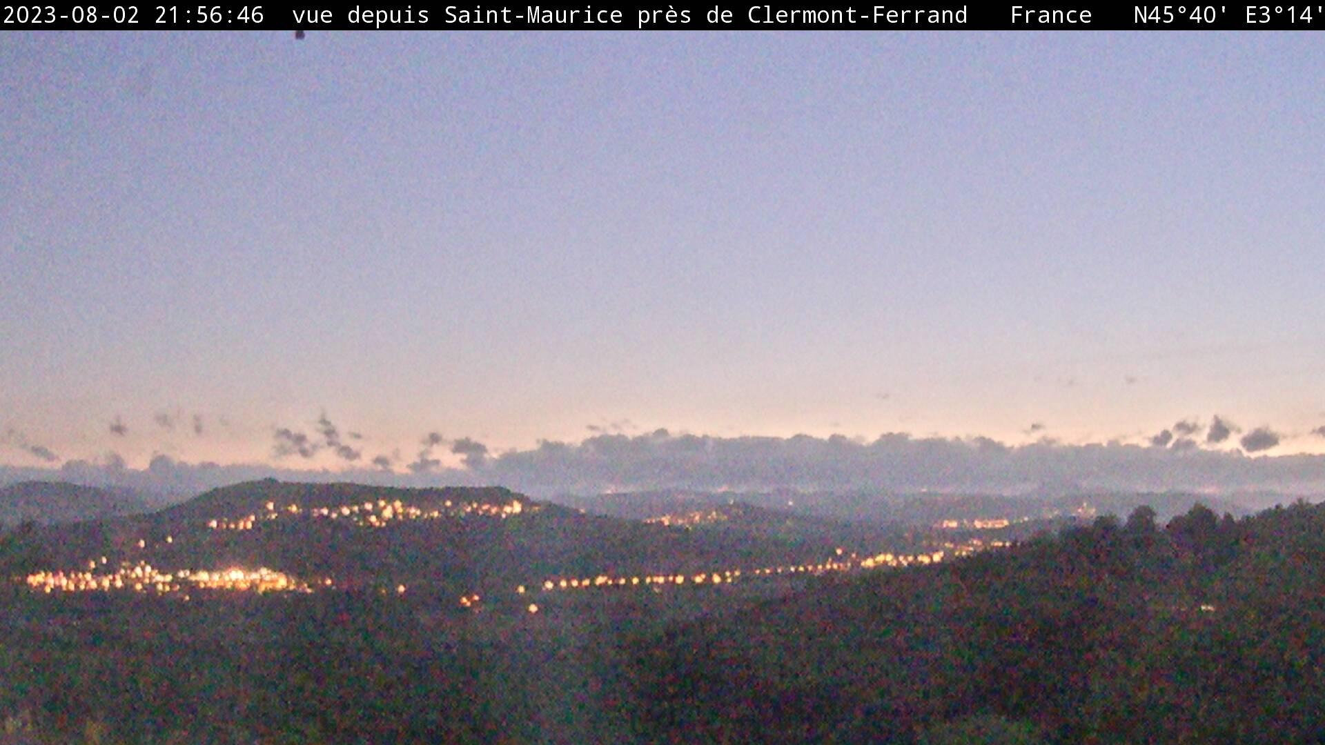 Saint-Maurice Sun. 21:57