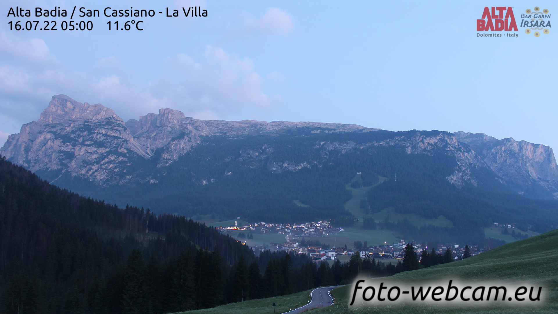 San Cassiano Sun. 05:04