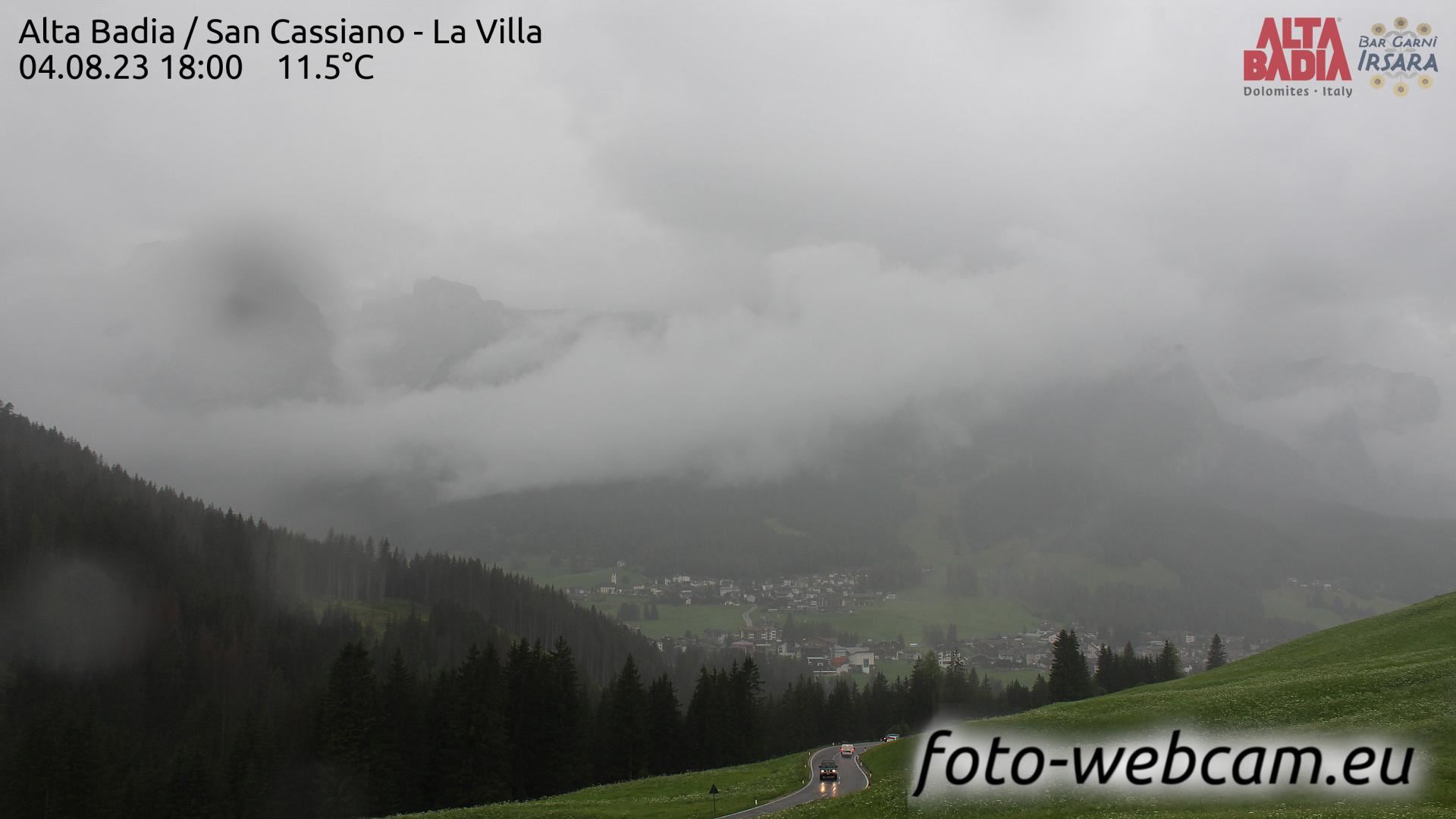 San Cassiano Sun. 18:04