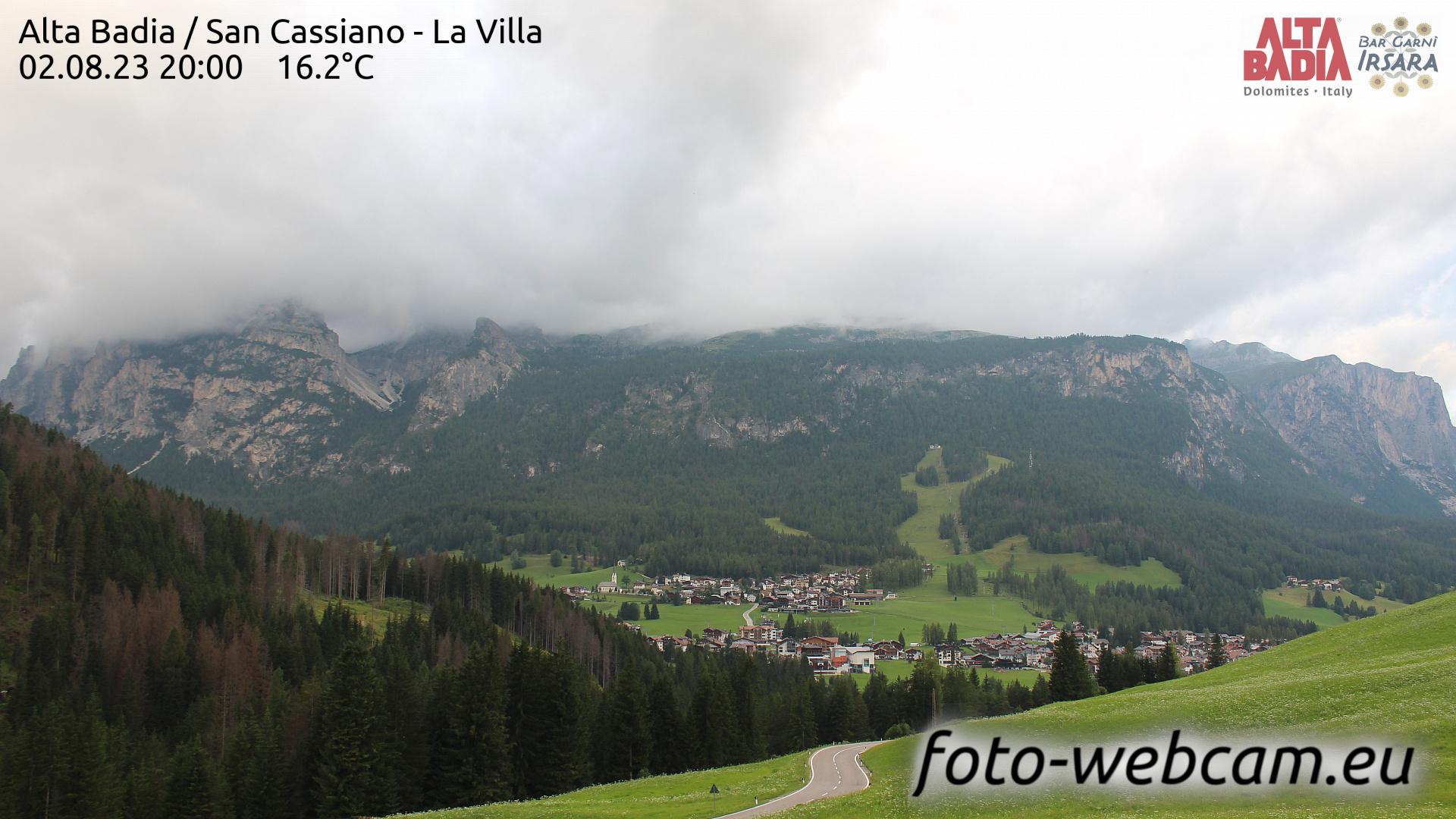 San Cassiano Sun. 20:04