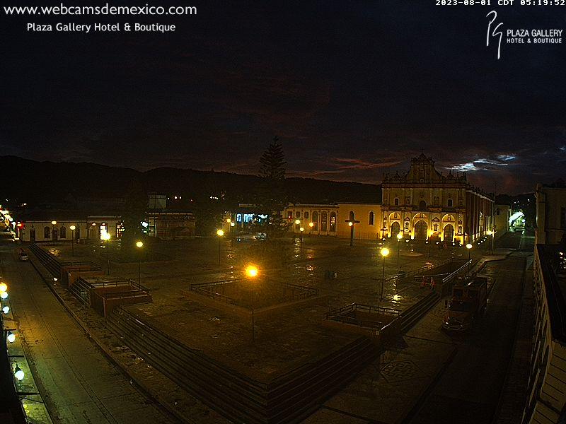 San Cristóbal de las Casas Sun. 06:24