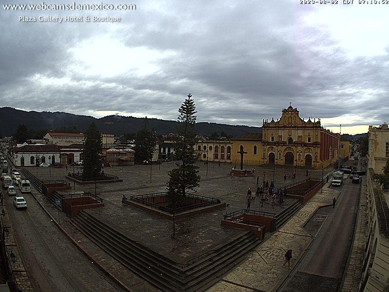 San Cristóbal de las Casas Sun. 08:24