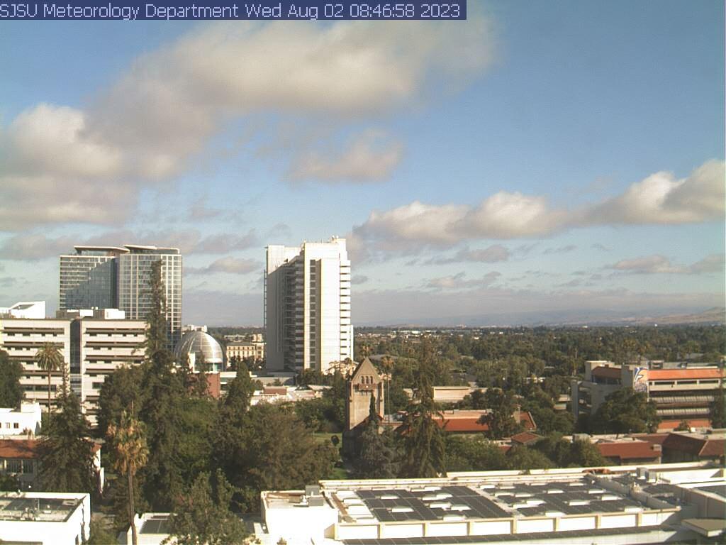 San Jose, California Mon. 08:48