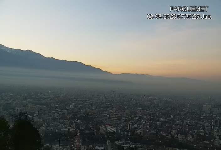 Santiago de Chile Fri. 07:32