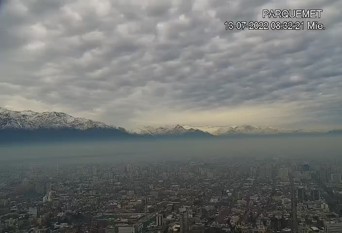Santiago de Chile Fri. 08:32