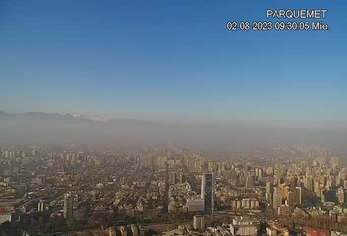 Santiago de Chile Fri. 09:32