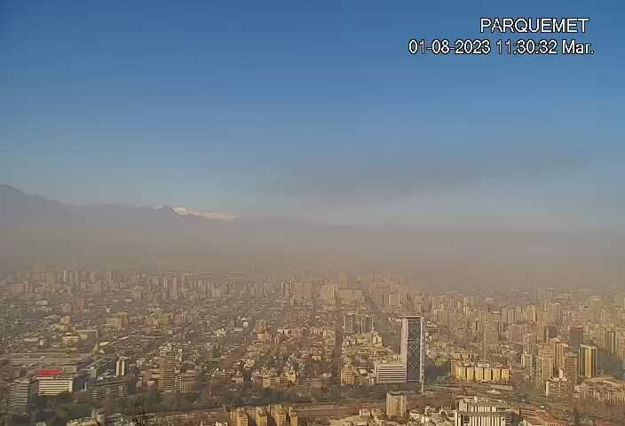Santiago de Chile Fri. 11:32