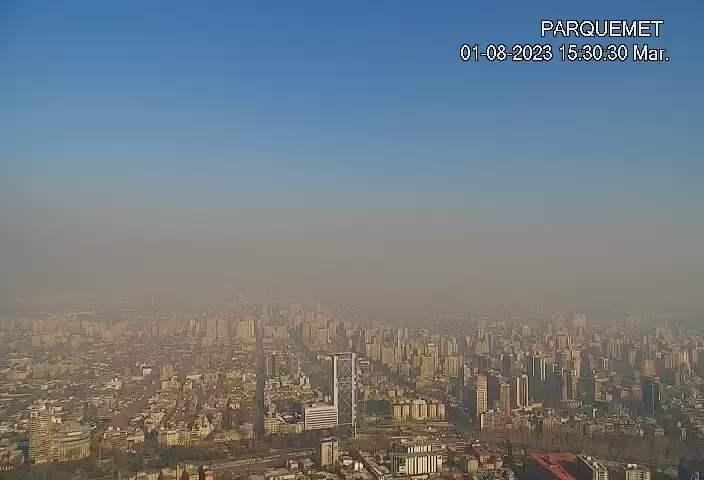 Santiago de Chile Fri. 15:32