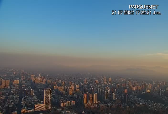 Santiago de Chile Fri. 17:32