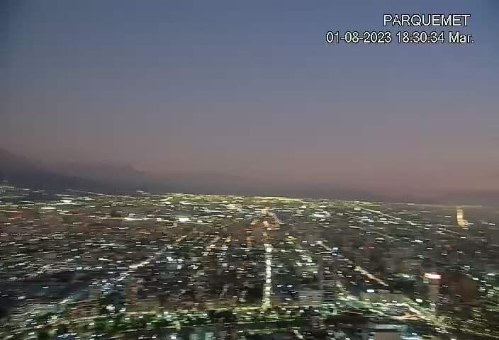 Santiago de Chile Fri. 18:32