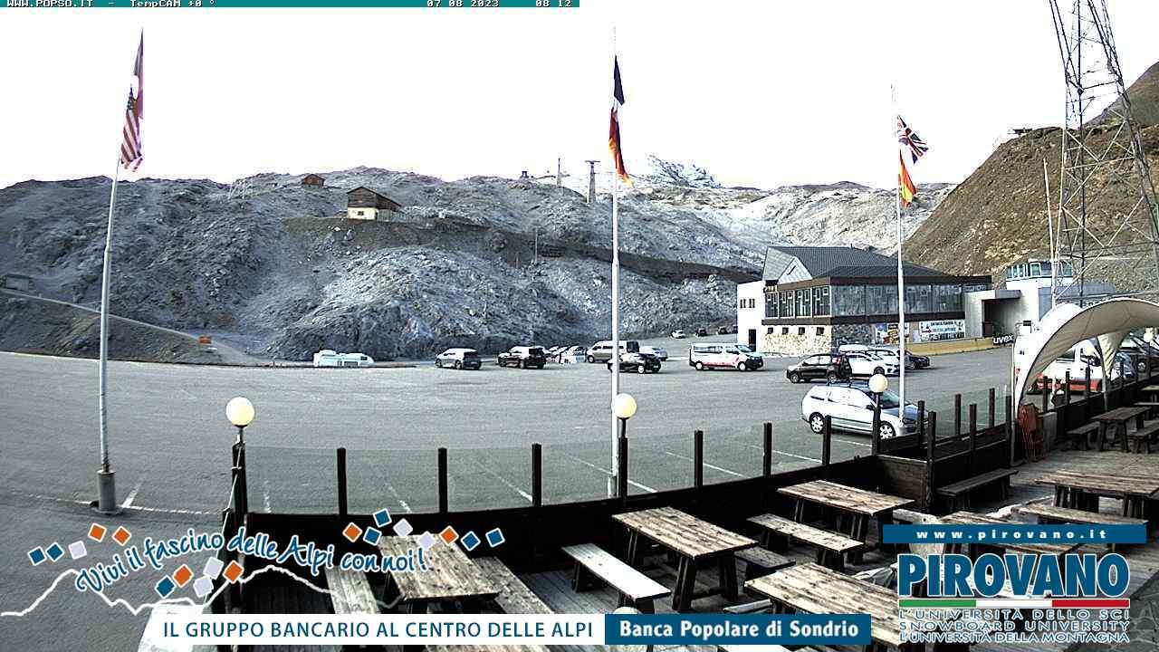 Stelvio Pass Tue. 08:17