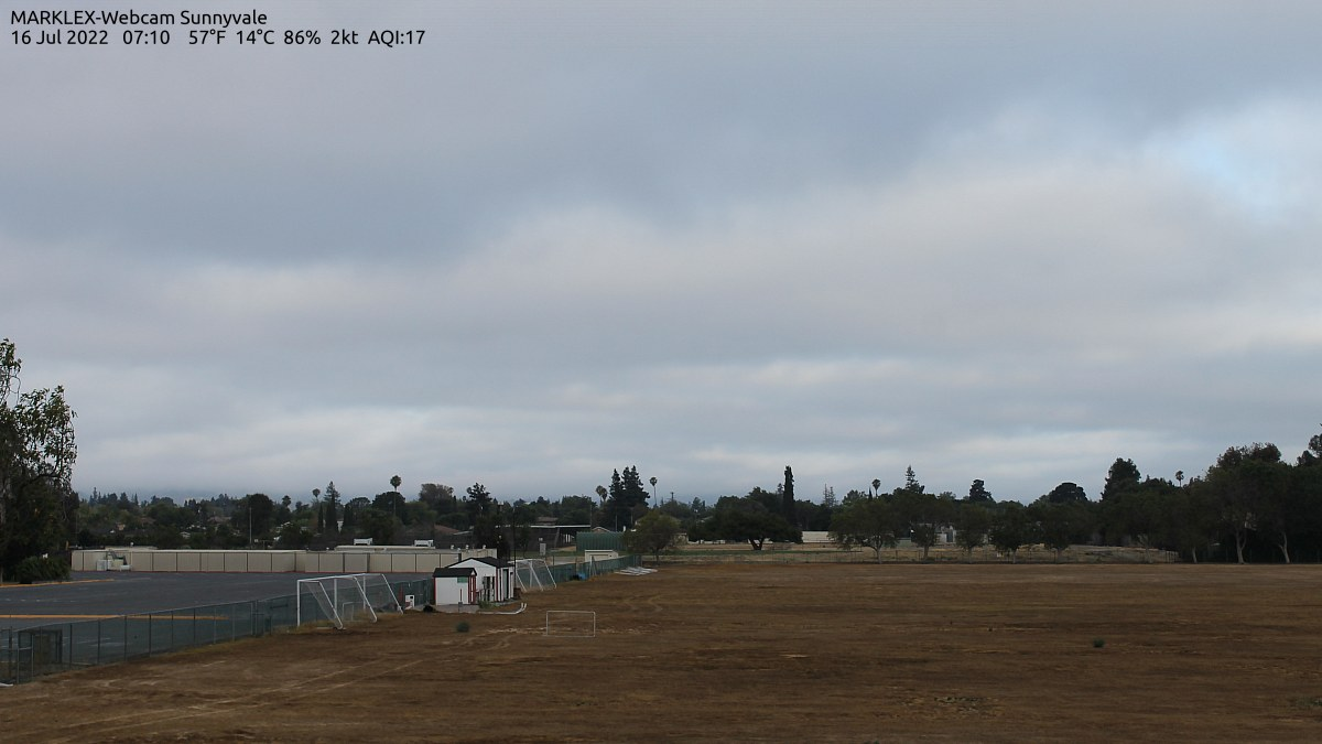 Sunnyvale, California Thu. 07:13