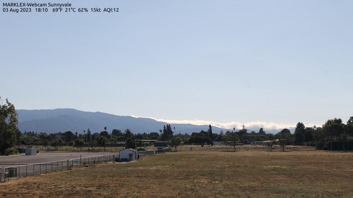 Sunnyvale, California Wed. 18:13