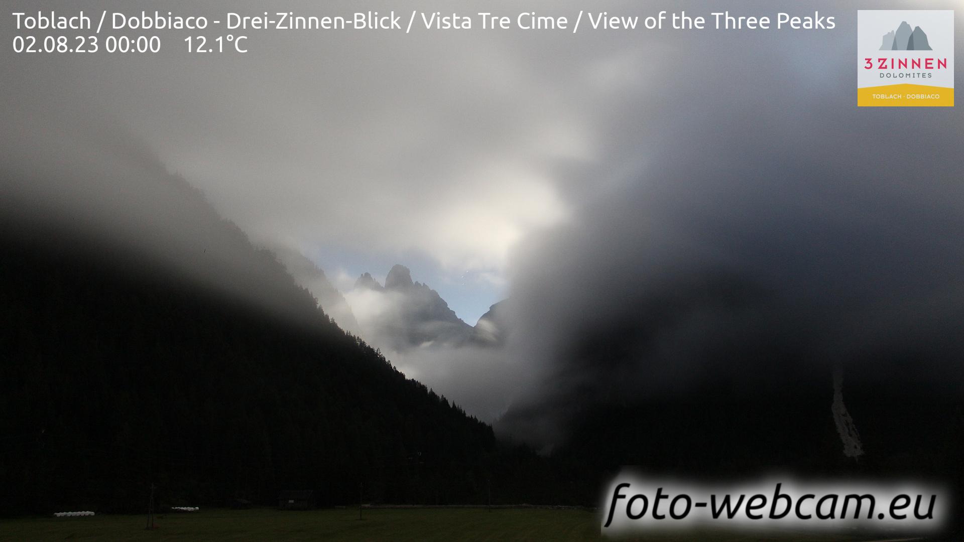 Toblach (Dolomiten) Do. 00:27