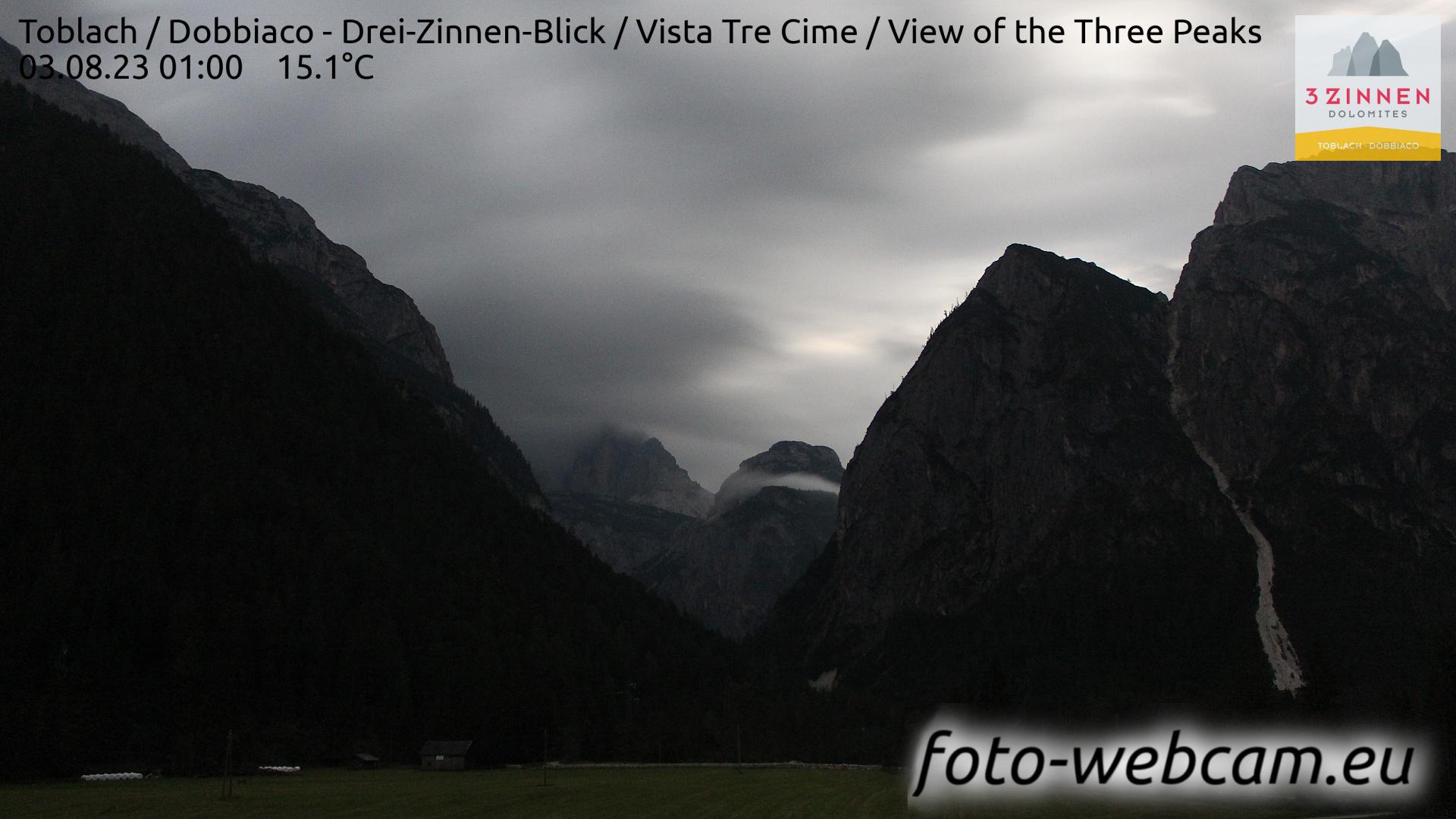 Toblach (Dolomiten) Do. 01:27