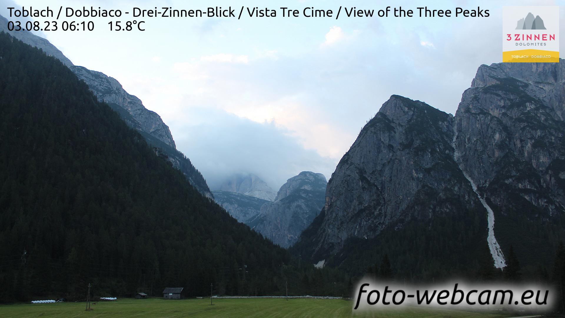 Toblach (Dolomiten) Do. 06:27