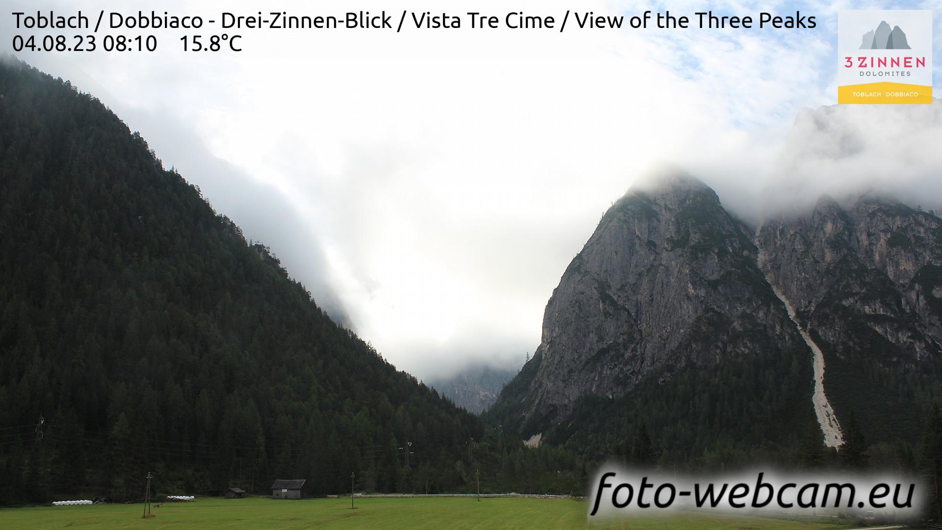 Toblach (Dolomiten) Do. 08:27