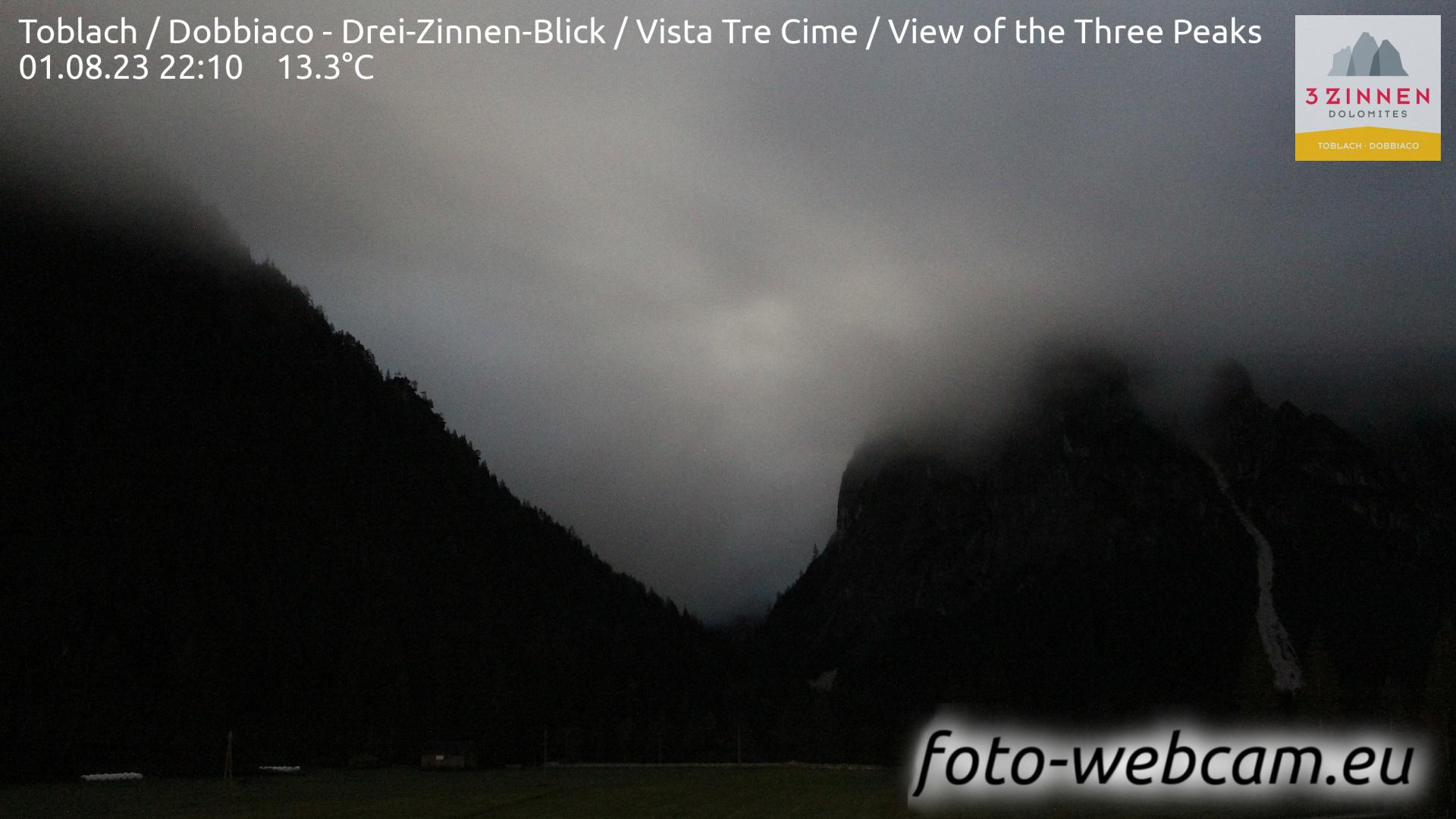Toblach (Dolomiten) Mi. 22:27