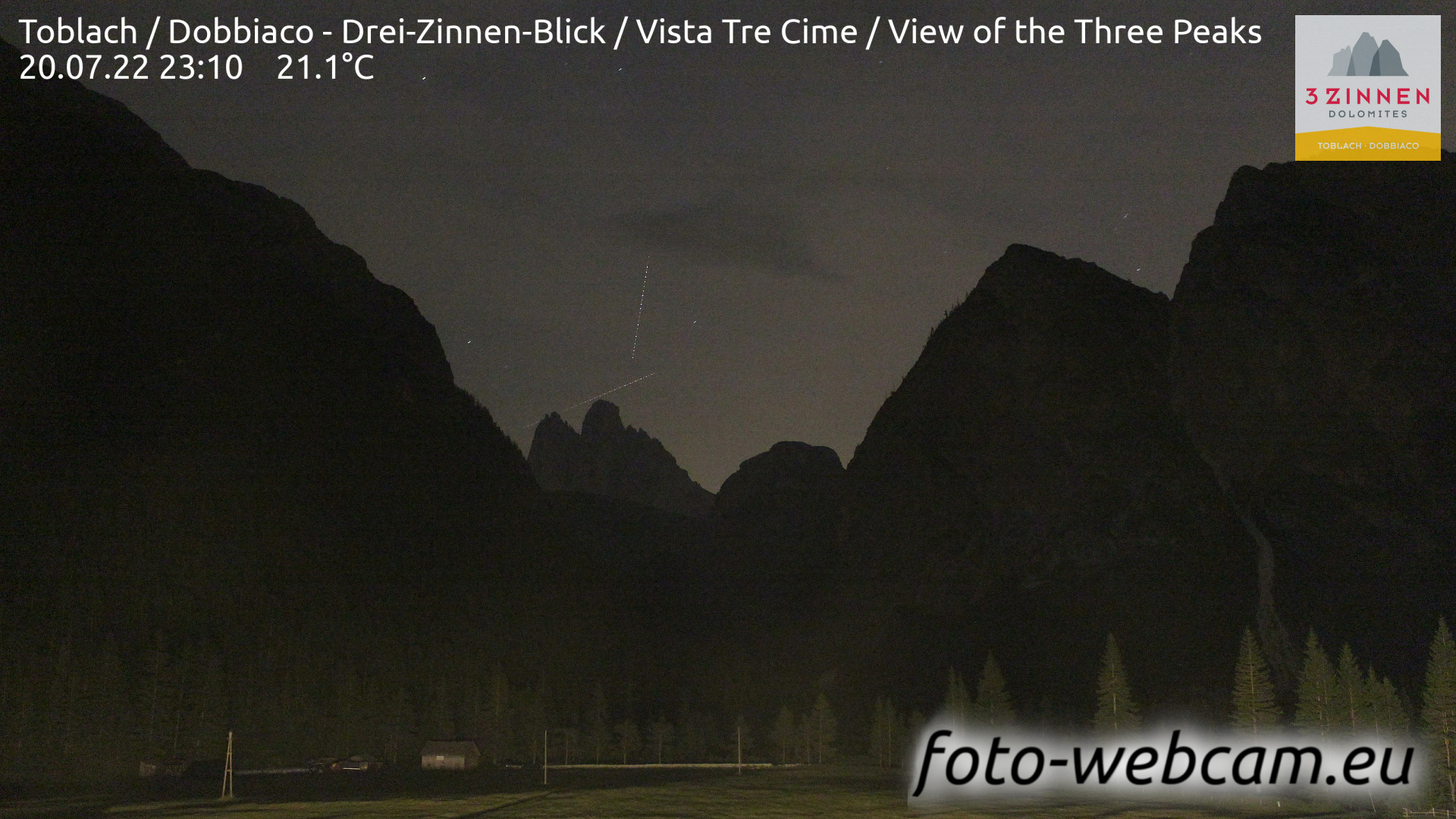 Toblach (Dolomiten) Mi. 23:27