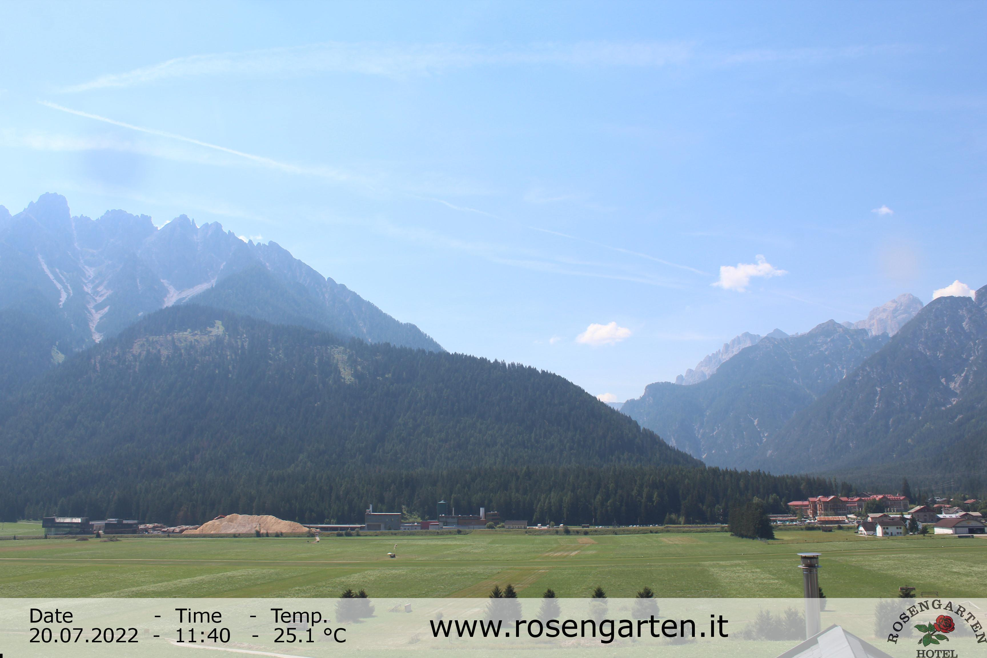 24h Timelapse Toblach (Dolomites), Italy