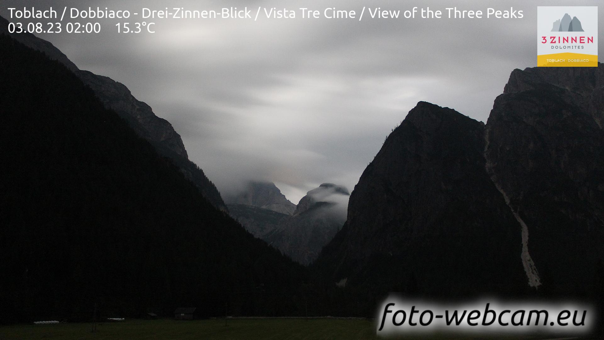 Toblach (Dolomites) Tue. 02:27