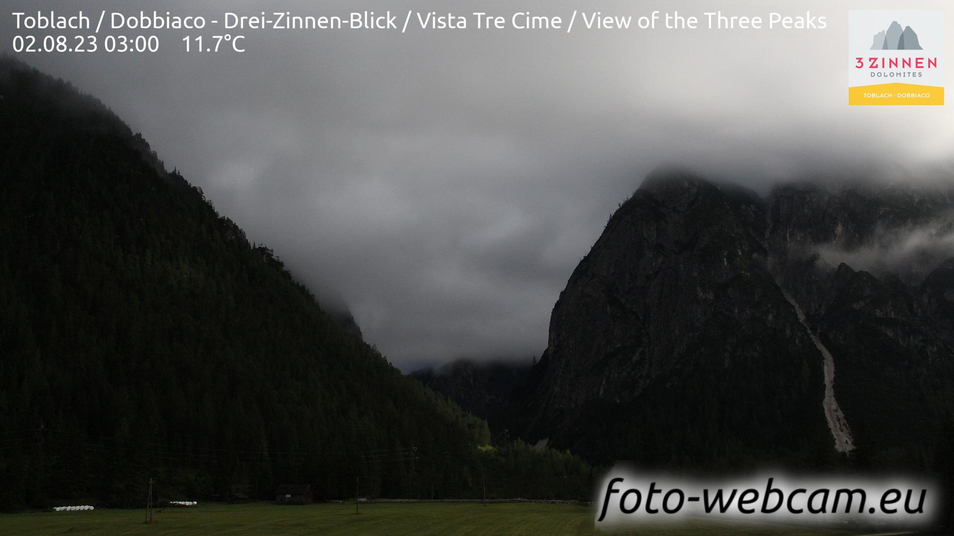 Toblach (Dolomites) Tue. 03:27