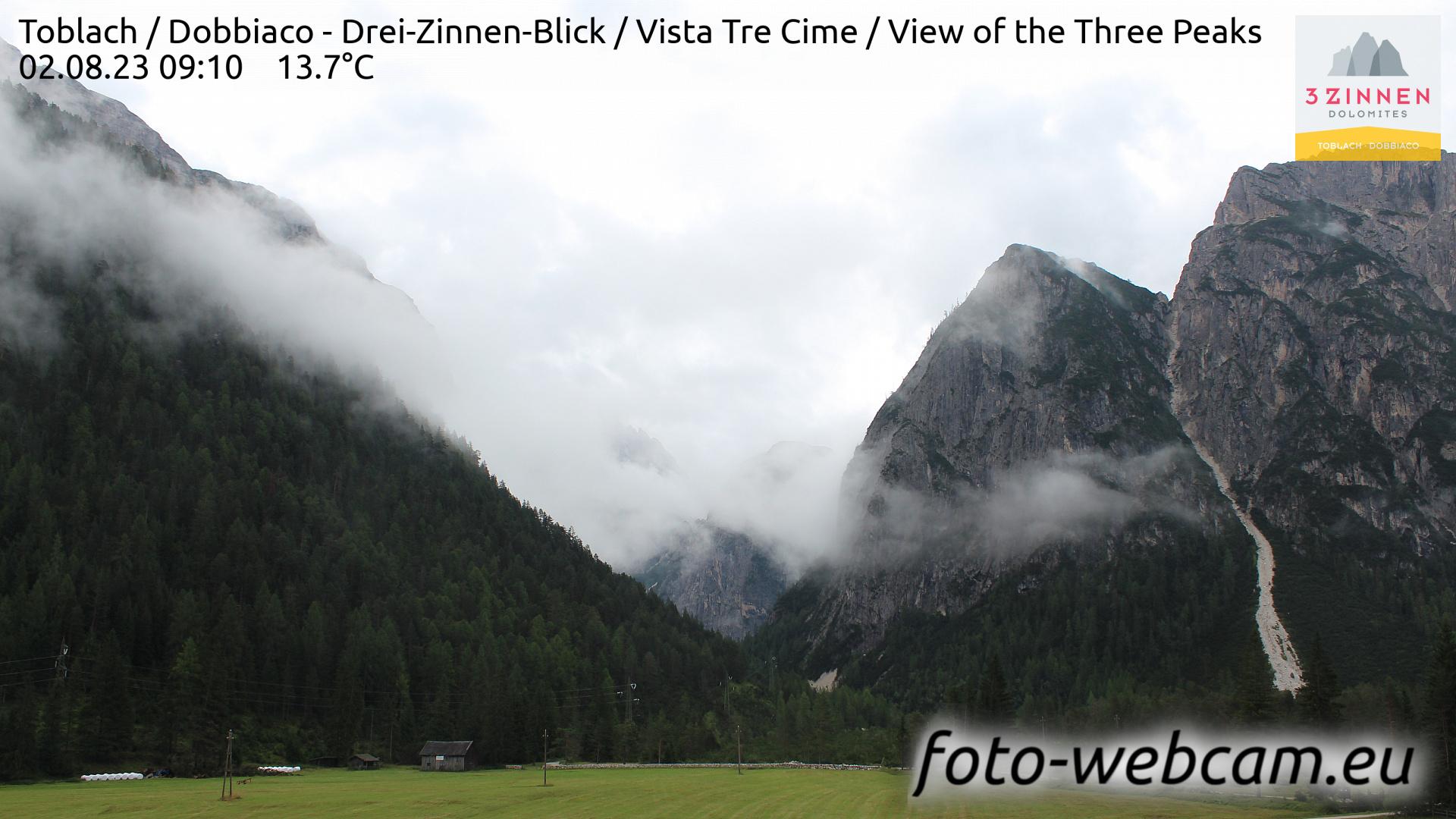 Toblach (Dolomites) Tue. 09:27