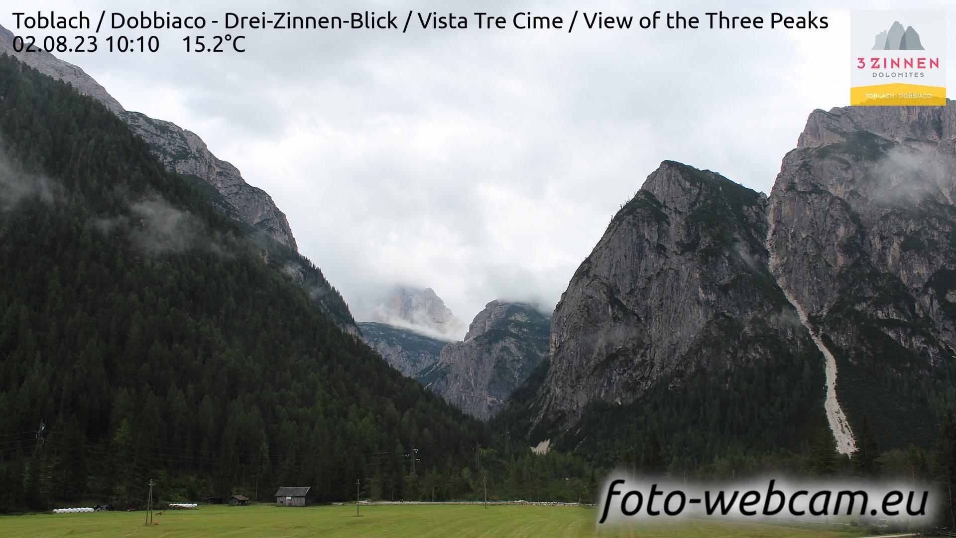 Toblach (Dolomites) Tue. 10:27