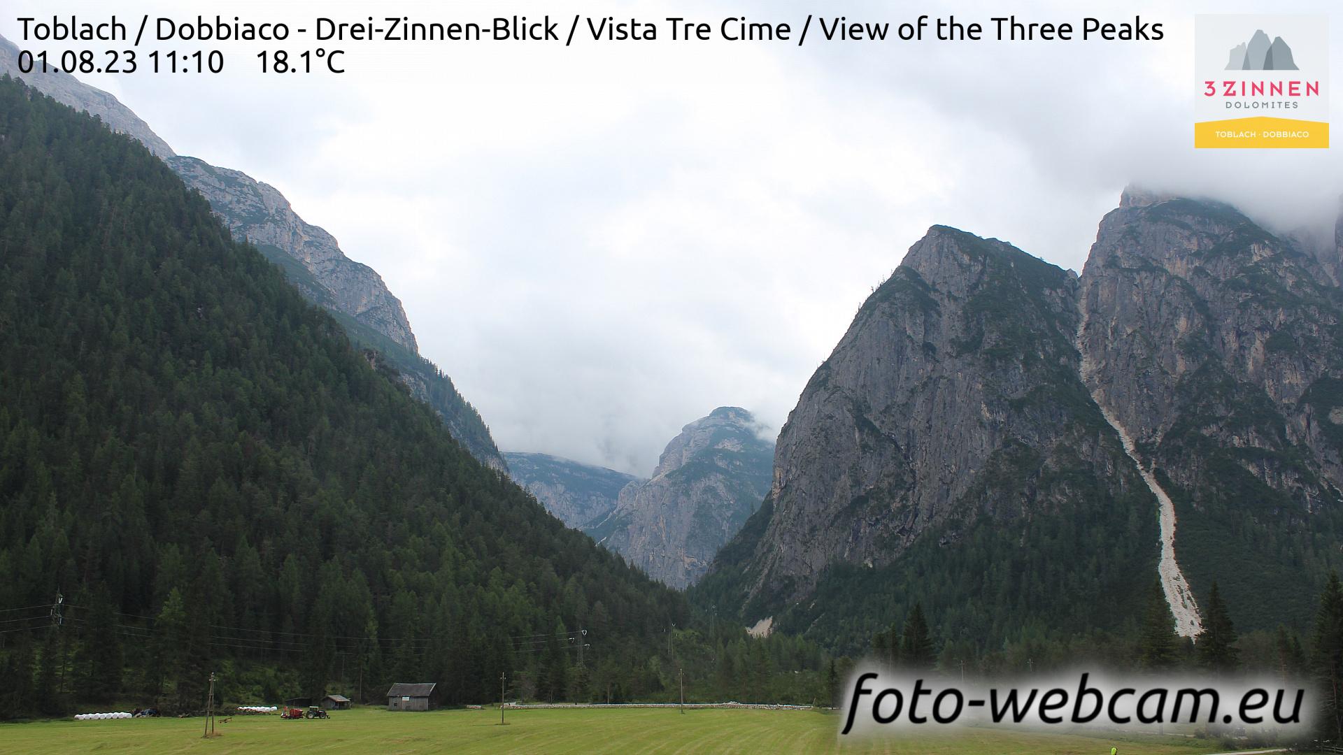Toblach (Dolomites) Tue. 11:27