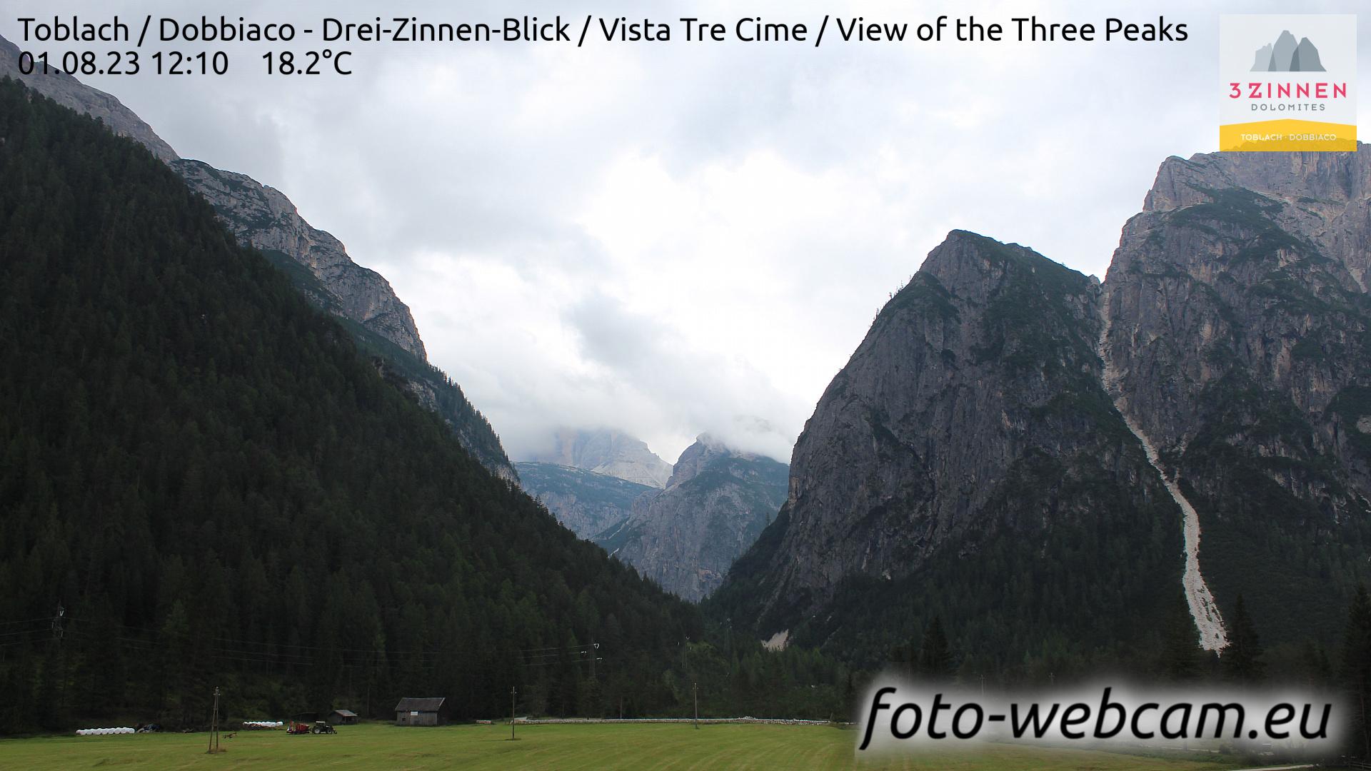 Toblach (Dolomites) Mon. 12:27