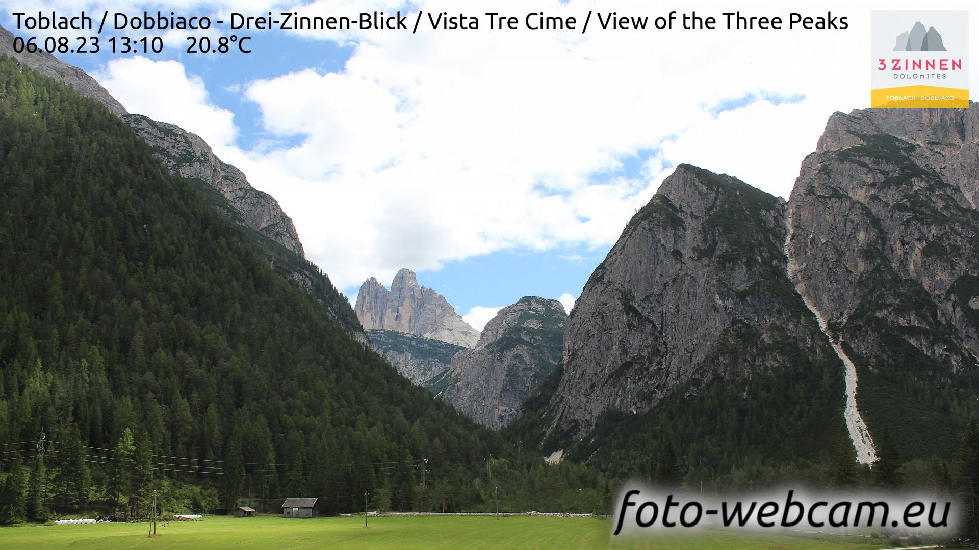 Toblach (Dolomites) Mon. 13:27