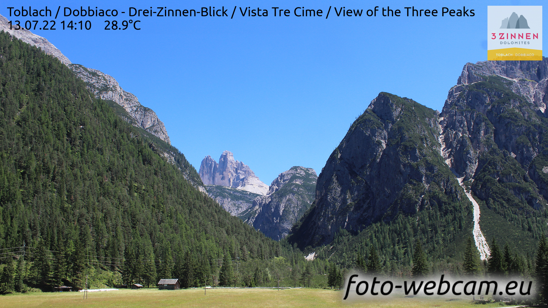 Toblach (Dolomites) Mon. 14:27