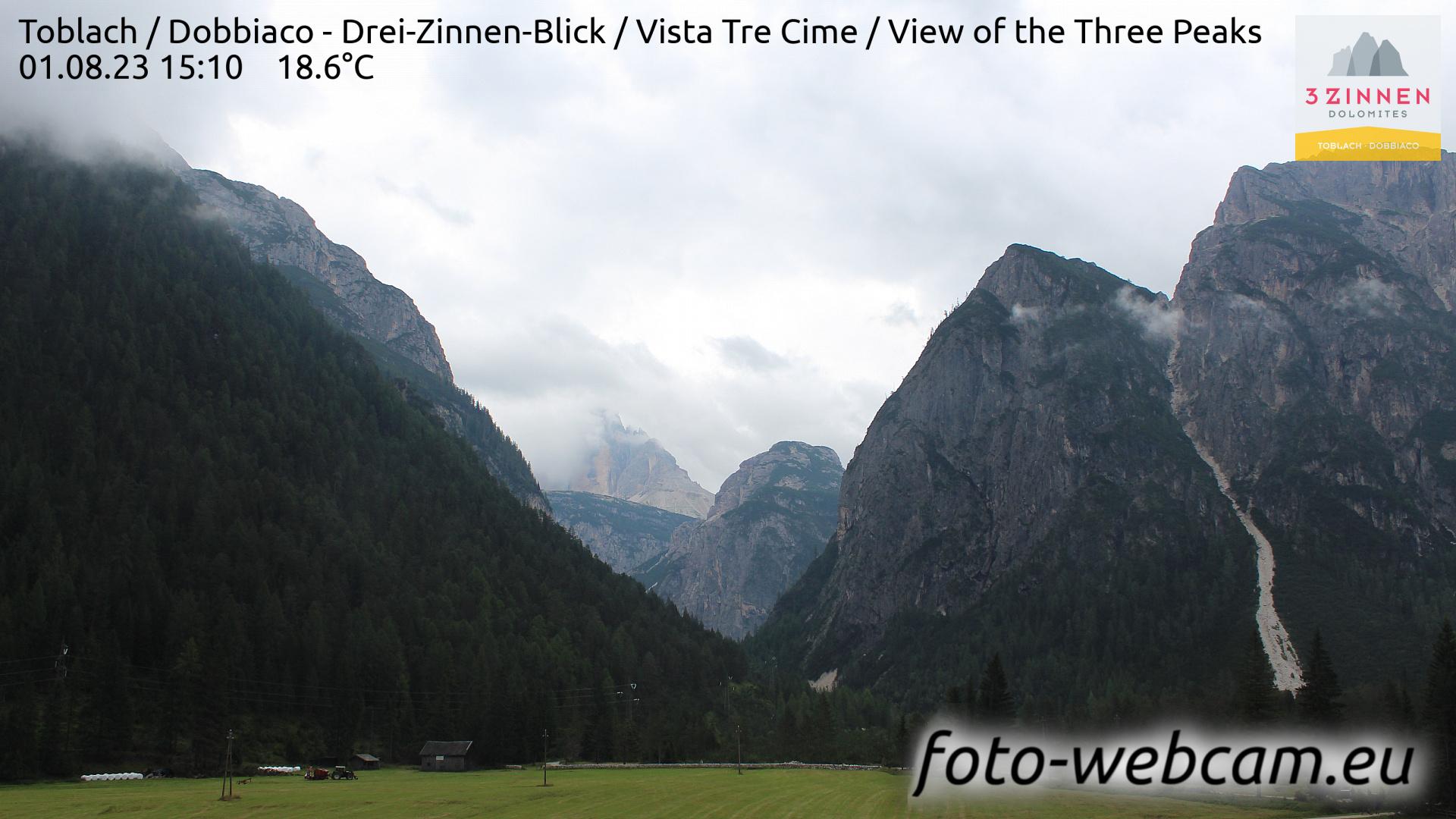 Toblach (Dolomites) Mon. 15:27