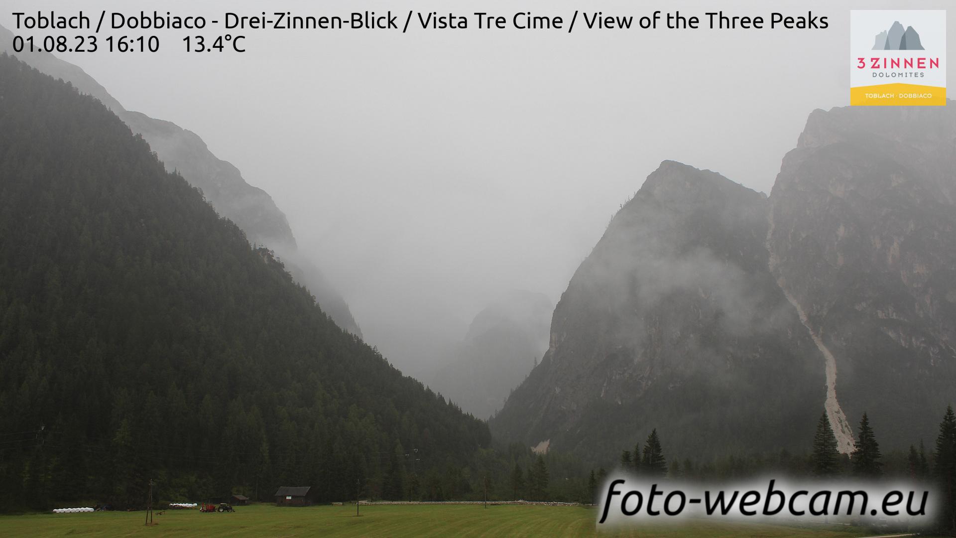 Toblach (Dolomites) Mon. 16:27