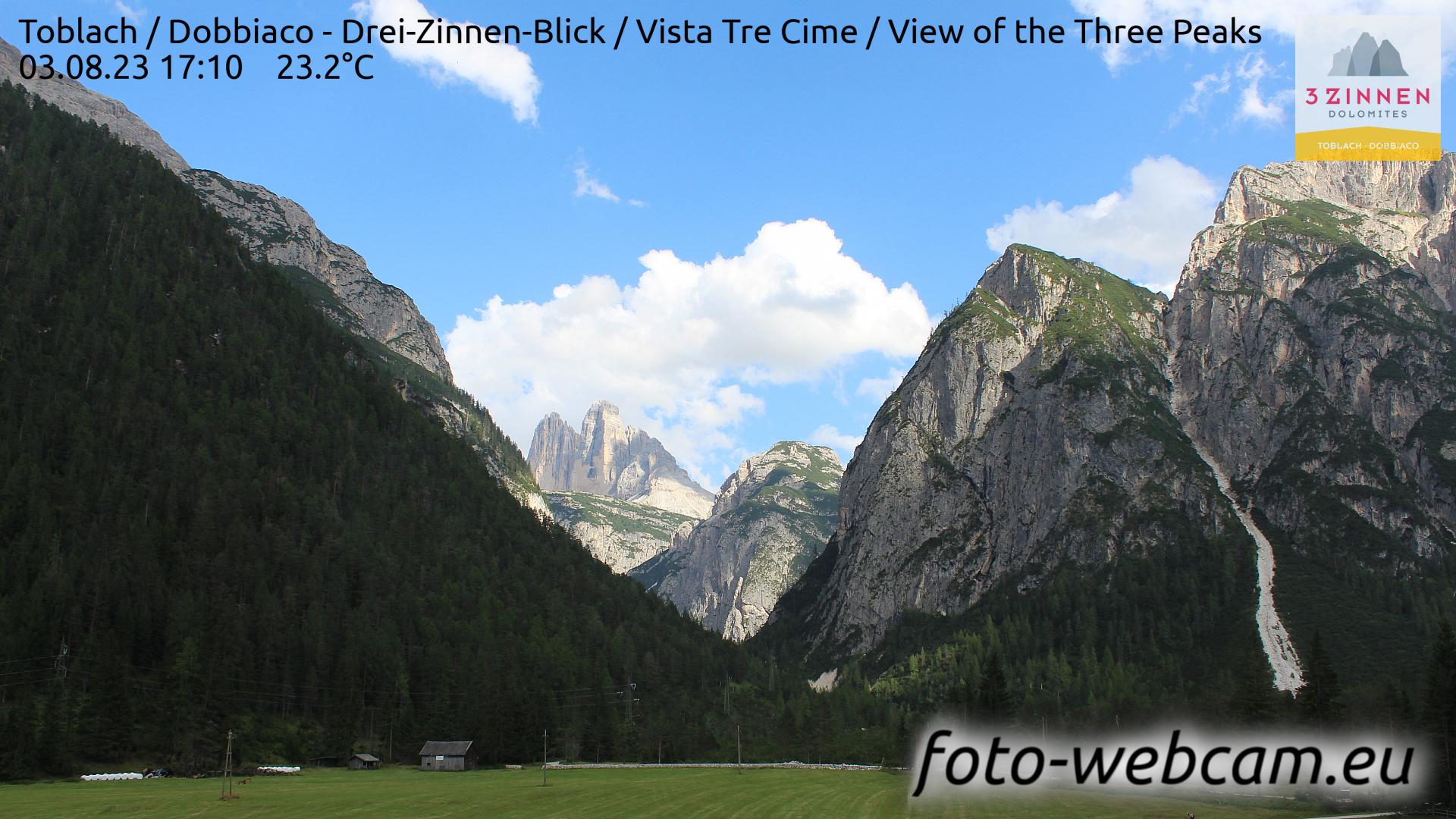 Toblach (Dolomites) Mon. 17:27