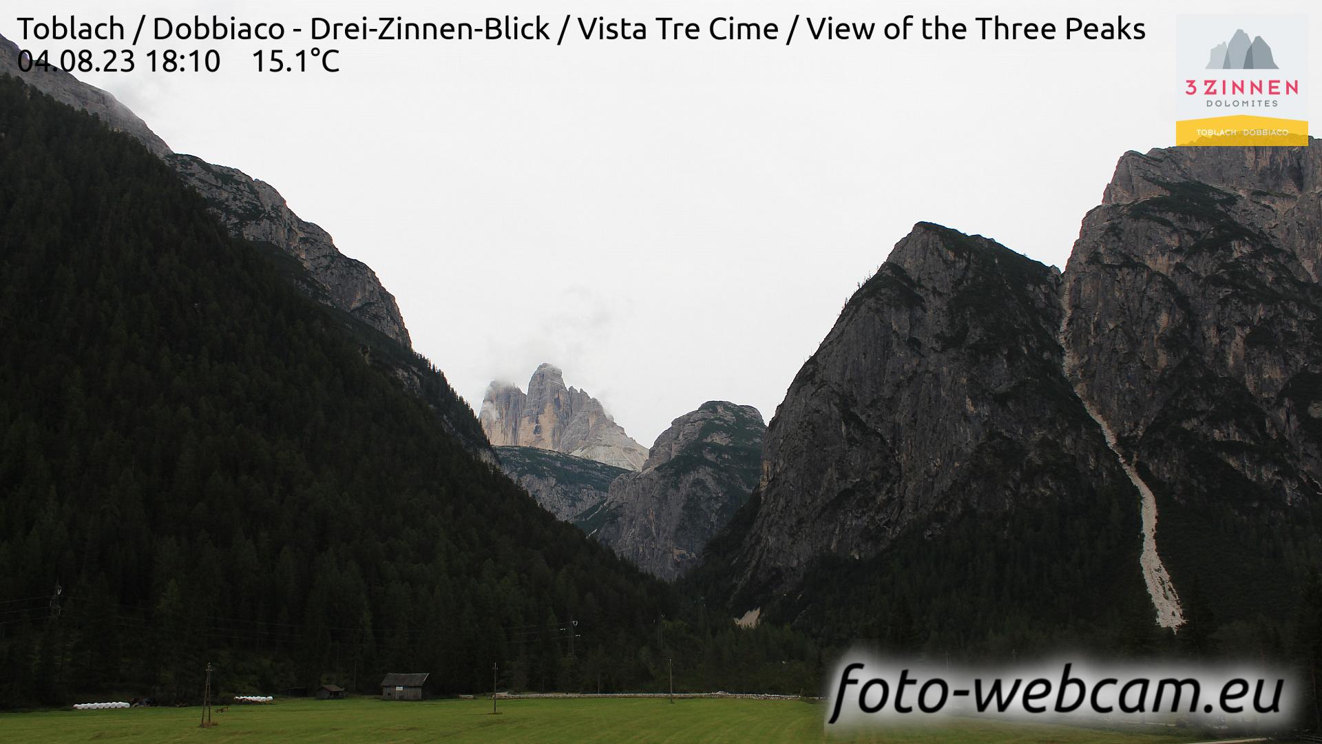 Toblach (Dolomites) Mon. 18:27