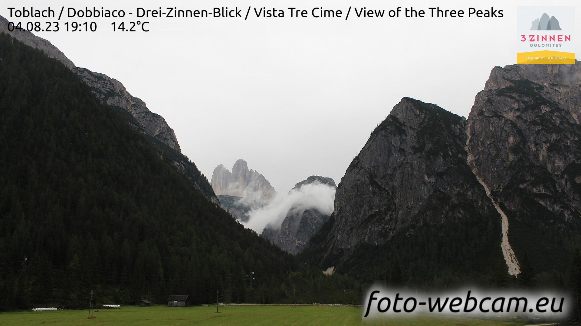 Toblach (Dolomites) Mon. 19:27